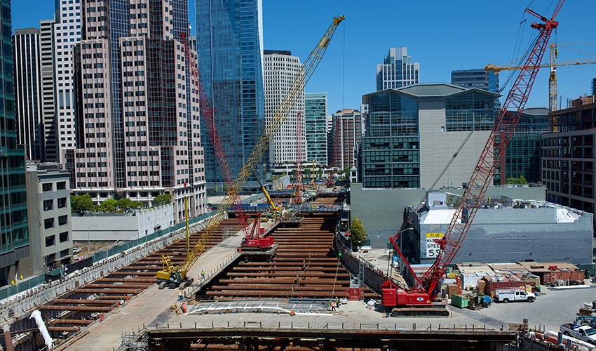 TransBayTerminal Construction