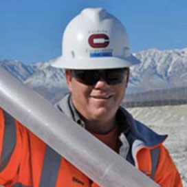 Steve Reese on project site