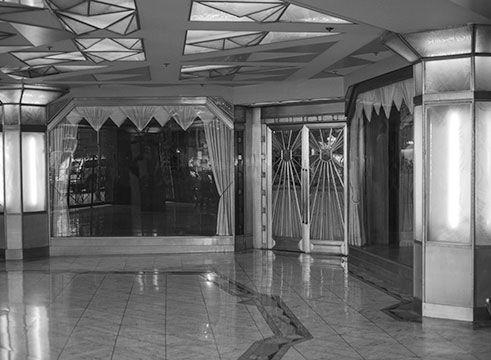 Interior of James Oviatt Building