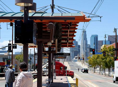 Metro Red Line Stop