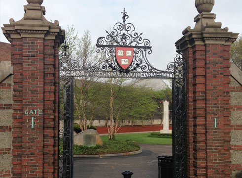 Gate to Harvard Business School