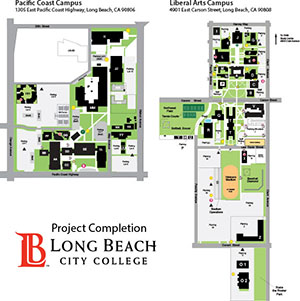 Long Beach City College campus maps
