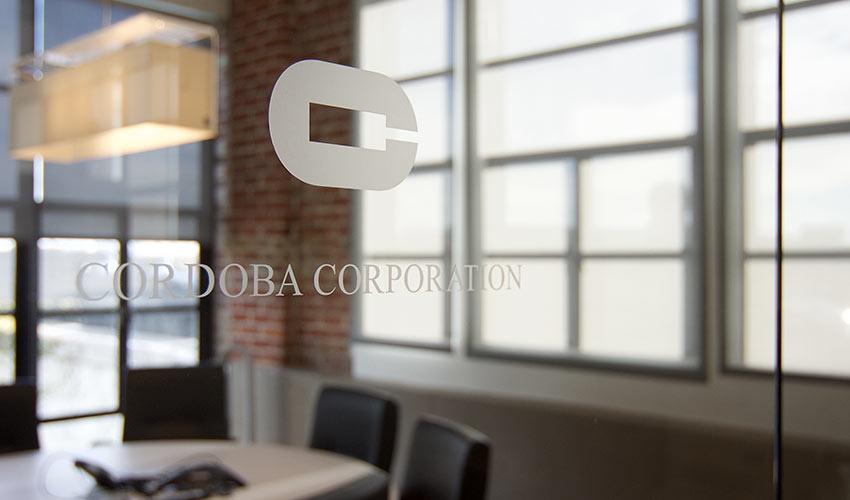 Cordoba Corporation office doors