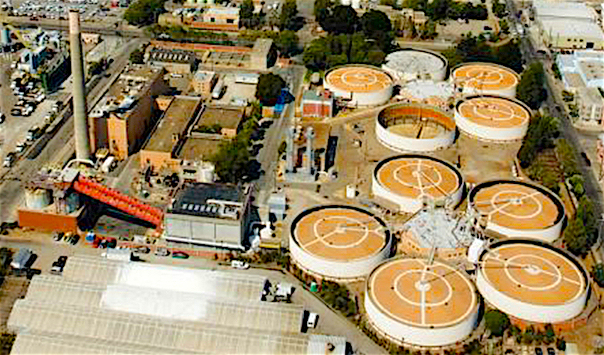 Aerial view of Bio Digester Facility