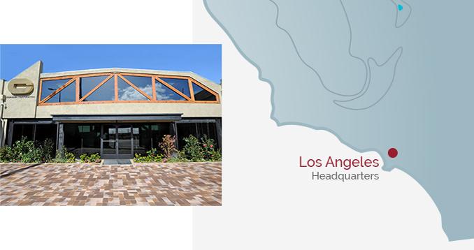 Los Angeles Headquarters - Building & Map