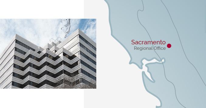 Sacramento Regional Office - Building & Map