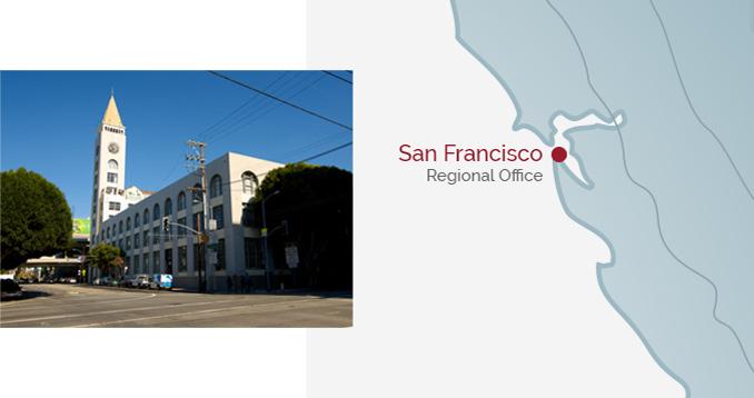 San Francisco Regional Office - Building & Map