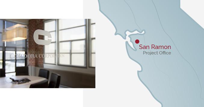 San Ramon Project Office - Interior & Map
