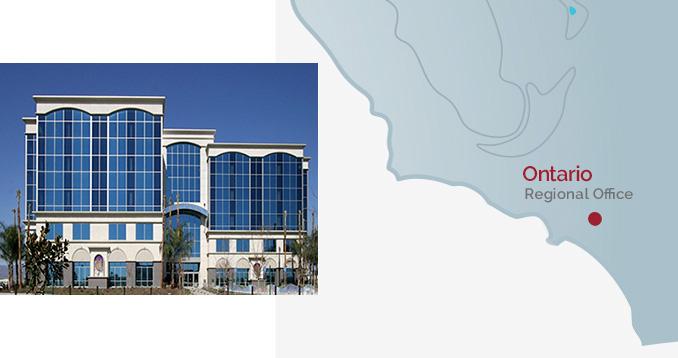Ontario Regional Office - Building & Map